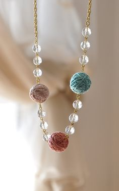 Not exactly crochet, but any yarn craft enthusiast will love this! Inspiration only.