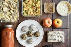 How To Pack Food For A Weekend Away In An Hour! (Plant-Based)