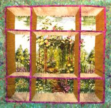 attic window quilt patterns - Google Search