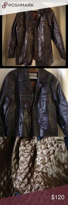 Manteaux, Vestes Vêtements, Accessoires Chevignon Flying Jacket Cuir Junior Vintage High Safety