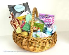 Christ centered Easter basket with printable scripture eggs (Awesome!)