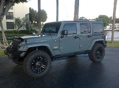 Jeep Wrangler Sahara Unlimited 4-door Hard Top Anvil Exterior With Brown Leather