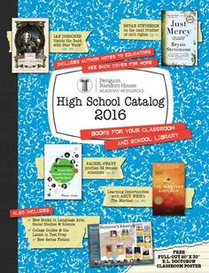 Image result for YOUR BRA LITERATURE Books 2016, Book Catalogue, Catalog Design, Penguin Random House, Book Publishing, Literature, High School, Classroom, Notes