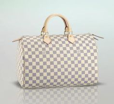 5c1f54bb967a louis vuitton speedy 35 (grad school graduation gift) White Louis Vuitton