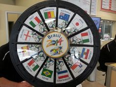 Come in for service during any World Cup game for your chance to win a free oil change on our prize wheel. Buy this Prize Wheel at http://PrizeWheel.com/products/tabletop-prize-wheels/mini-clicker-prize-wheel/.