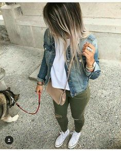 34 Super Ideas for sneakers street style women converse Sneakers Fashion Outfits, Mode Outfits, Winter Outfits, Casual Outfits, Converse Fashion, Converse Sneakers, Casual Sneakers, Womens Converse Outfit, Jeans And Sneakers Outfit