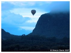 #airnzsunshine - come fly with me - balloon ride over the Glasshouse Mountains
