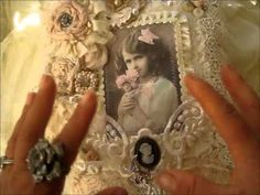 ▶ Gorgeous Shabby Creations 4 Bonnie(sassyscrappers) pkg no.2 - YouTube