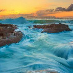 BLUE SUNSET at Sugar lake in Minnesota, USA | wallpaper ...