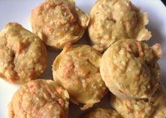 Muffins avoine et lentilles rouges
