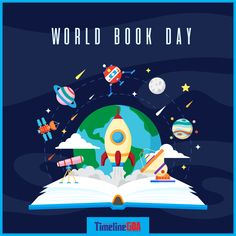 World book day background Free Vector Backgrounds Free, Special Day, Vector Free, World, Illustration, Books, Game, Design, Places