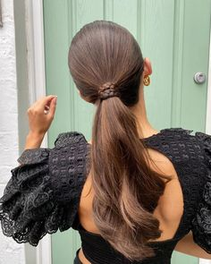 Everyday Hairstyles, Hairstyles For School, Trendy Hairstyles, Wedding Hairstyles, Long Ponytail Hairstyles, Spring Hairstyles, Medium Hair Styles, Short Hair Styles, Hair Strand