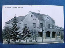 Postcard SD Yankton Elks Club 1915