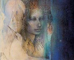 Aphrodite by Susan Seddon Boulet - one of the most beautiful and meaningful contemporary images of Aphrodite