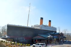 Titanic Museum in Pigeon Forge - Great attraction to bring the family to.