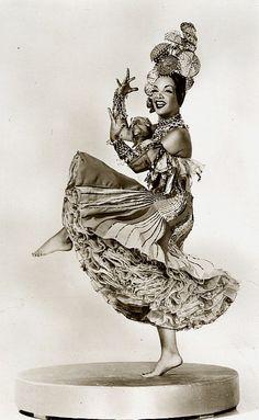 Carmen Miranda  c.1940 Oh Ya!