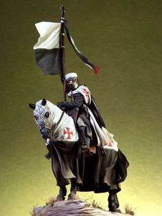 pegaso models 54mm Knight Templar with very good rendition of kit