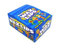 Wax Lips box of 24 - OldTimeCandy.com
