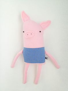 finkelsteins plush pig friend