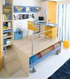 Find Bunk Desk Bed. What would you say about buying one of these bunk beds with functional features? Maybe this is the first time that you see so many nice looking and practical offers so what are you waiting for? Even those people who are very demanding, have managed to make their decisions here.