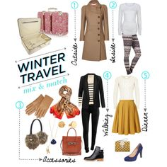 Winter Travel Style - Polyvore by SheSchemes