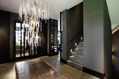 Project villa Bergschenhoek, The Netherlands Rotterdam, Interior Decorating, Interior Design, Entrance Hall, Lamp Design, Luxury Living, House Colors, Interior Inspiration, House Plans