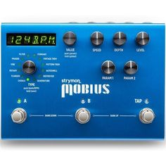 Strymon Mobius Multidimensional Modulation Pedal Boss Pedals, Some Might Say, Pre And Post, Guitar Pedals, Sound Design, History Books, Hold On, Music, Vintage