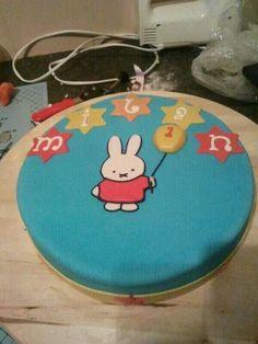 Nijntje cake. Miffy cake