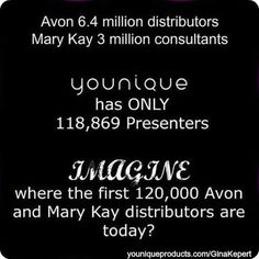 Ask me how $99 changed my life forever and allowed me to stay home with my kids. Or simply click on the picture to find out. www.youniqueproducts.com/GinaKepert