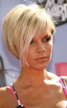 victoria beckham short blond | Fall hairstyles, Short hairstyles and Hairstyles for short hair on ...