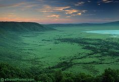 Ngorongoro Crater, Ngorongoro Conservation Area, UNESCO World Heritage Site, Tanzania, Africa