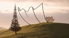 """Neil Dawson Sculpture, """"Horizons""""  Pin points to the NPR article about his work from 8/10/12. To view images of his work, visit the artists' website directly at: http://www.neildawson.co.nz/"""