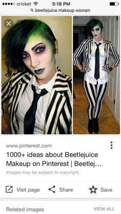Beetlejuice costume by princessieromustdie on polyvore featuring this year do not overthink your next halloween costume and be the next female beetlejuice in your halloween party solutioingenieria Gallery