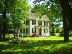 cute farm house