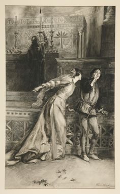 """Beatrice: """"Kill Claudio"""" - Act IV, Scene I, Much Ado About Nothing (1890)"""