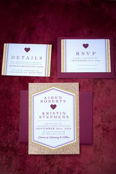 Outdoor Wedding Reception - Moody Romantic Marsala Magenta Color Tones - Candles - Copper Chargers - Outdoor Dining Table for Wedding Guests | Wedding Invites | Invitation