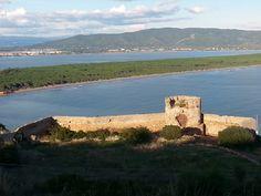 La #Torre del #Mulinaccio e il #Tombolo della #Feniglia  #MonteFilippo - #Porto Ercole - #MonteArgentario - #Maremma - #Tuscany