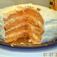 Orange Dreamsicle Cake II