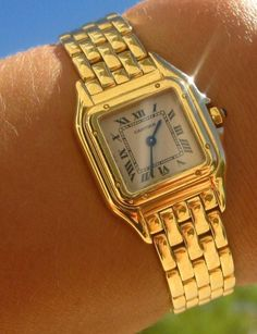 Cartier Panthere watch discontinued  love it...!!!