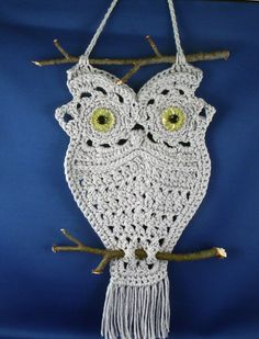 Crochet Owl Pattern   <3 made one of these in the 70's too funny!