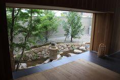 藤原邸: 造園 武が手掛けた庭です。