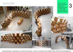"""El Sistema Constructivo """"Muro Píxel"""",panel 3"""
