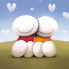Happy Ever After by Doug Hyde - Contemporary Paintings & fine art pictures available in our gallery - Free delivery on all orders over All Things Cute, Beautiful Things, Pottery Designs, Art Pictures, Art Pics, Heart Art, All You Need Is Love, Artistic Photography, Pebble Art