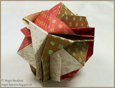 Birgit's Blog - kreatives und mehr...: Origami-Kugel