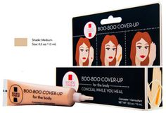 Boo-Boo Cover-Up Pro-Healing Concealer for the Body - Medium Shade, 0.5 fl. oz.-Have a Boo-Boo