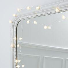 Mini Snowberry Fairy Lights | The White Company