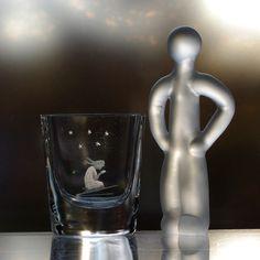 Smålandshyttan Glassworks 1960's Copper-Wheel Engraved Design, Girl Kneeling to Pray, Swedish Decorative Vase My Glass, Glass Art, Crystal Kingdom, Evening Prayer, Engraving Art, Design Girl, Great Stories, Vases Decor, Copper