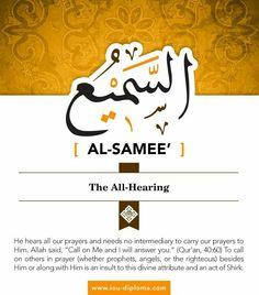 Asma-ul-Husna and Rohani Ilaj Asma Allah, Islamic Online University, Muslim Beliefs, Attributes Of God, Creator Of The Universe, Surrender To God, Online Quran, Beautiful Names Of Allah, Meaningful Names