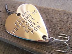 From Mom Mother to Son Wedding Parents to by CandTCustomLures, $19.00