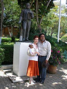 Viaje de los miembros de la Fundación a Guelatao de Juárez, Oaxaca.
